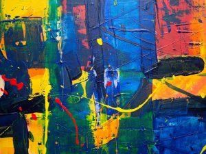 Art 5 Abstract Artistic Expressionism Painting