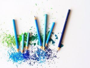 Art 7 Blue