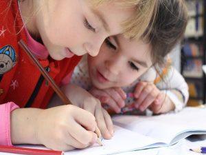 Kids 3 Children Cute Drawing