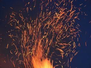 Nature 1 Abstract Art Blaze