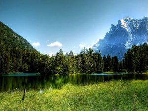 Nature 3 Alpine Clouds Daylight
