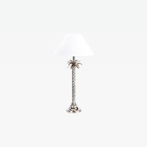 Gray Metal Table Lamp