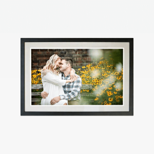 Couple on White Wall