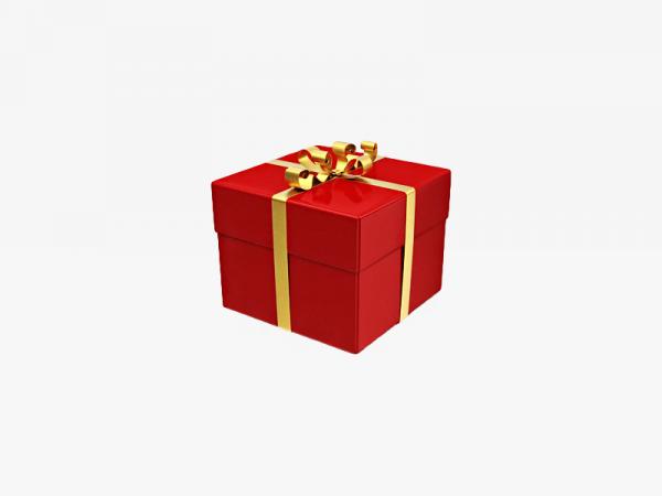 Red Gift Box Illustration