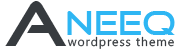 Aneeq Free WordPress Theme Logo 1
