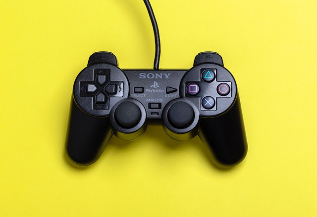 Black Sony Ps2