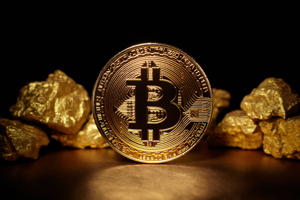 Bitcoin-gold-mound