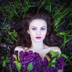 purple-girl-flower-dress