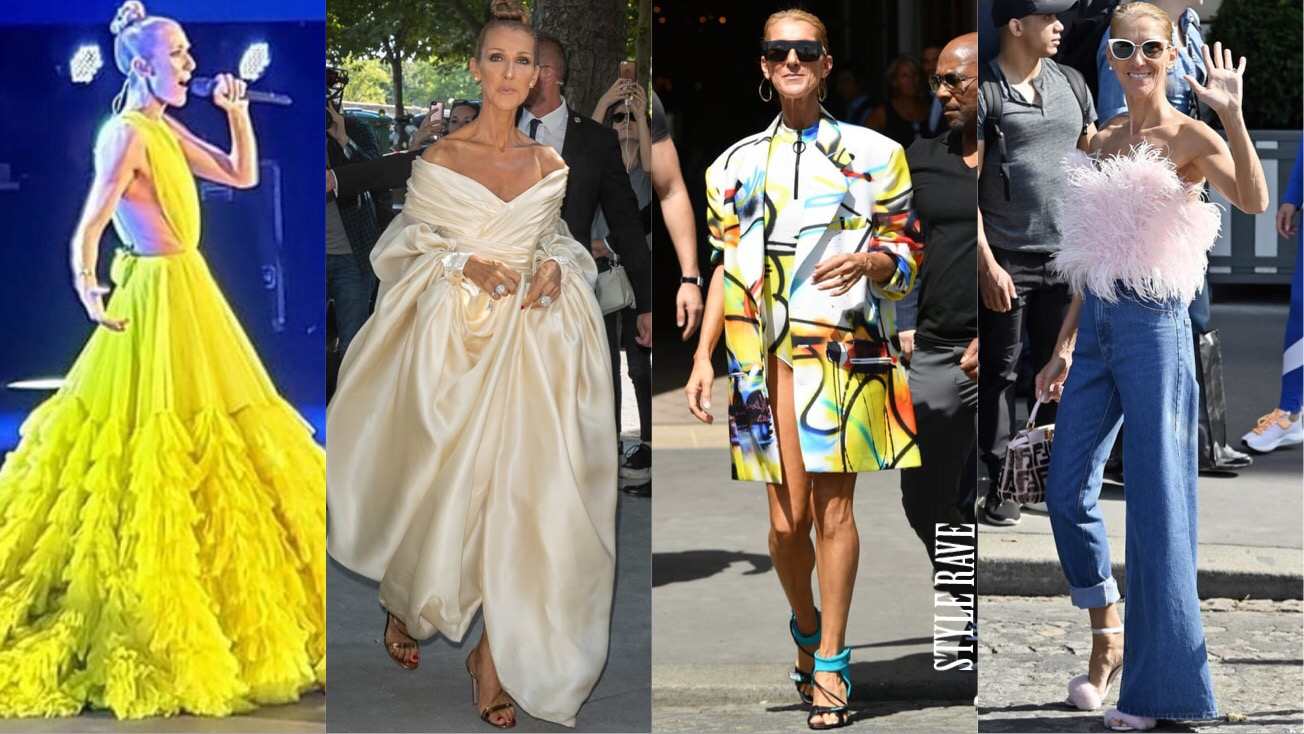 Celine Dion's outfits take Paris Fashion Week by storm