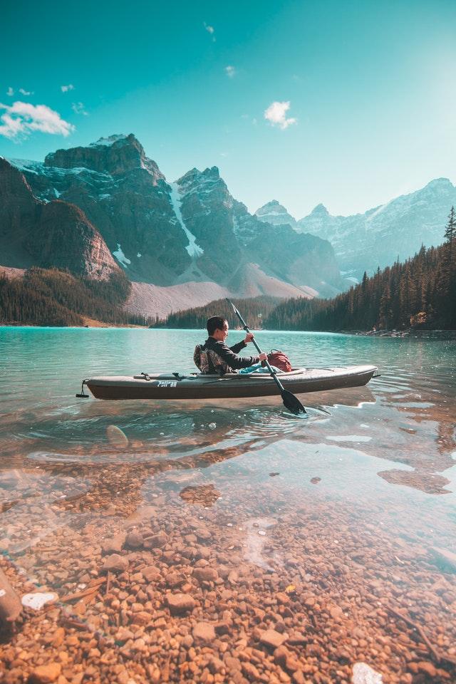 Person On Kayak