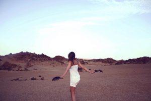 An lonly girl