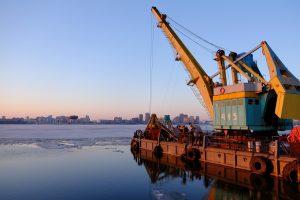 Crane Boat