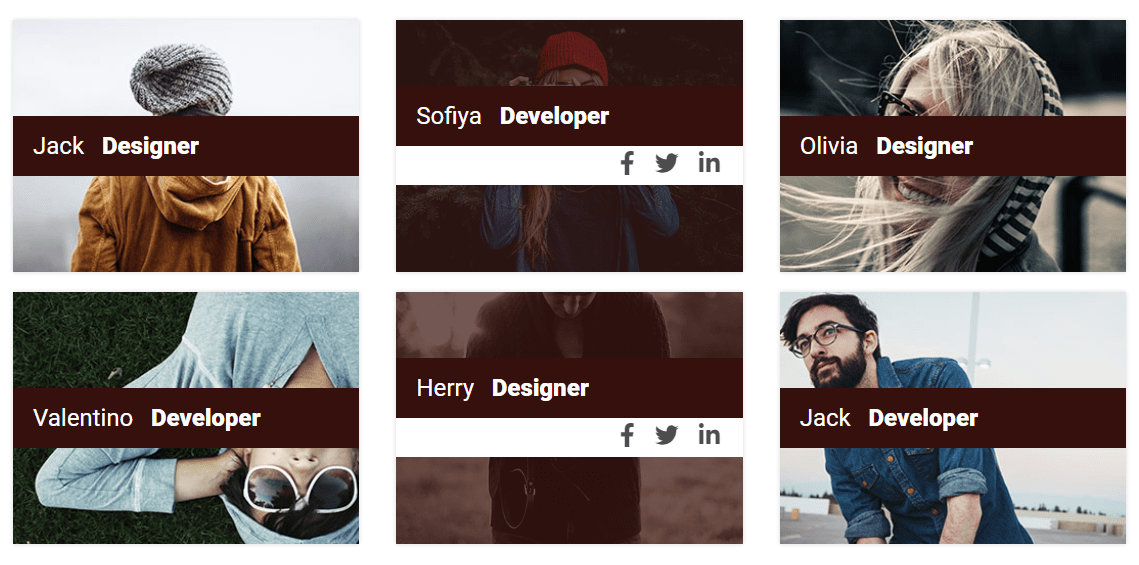 Team Builder Member Showcase