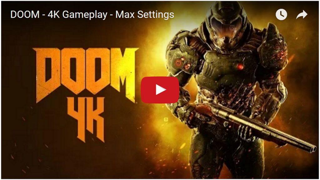 DOOM 4K Gameplay