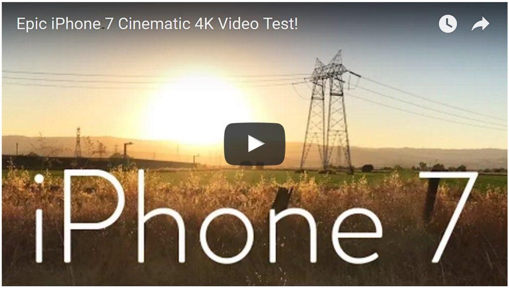 Epic iPhone 7 Cinematic 4K