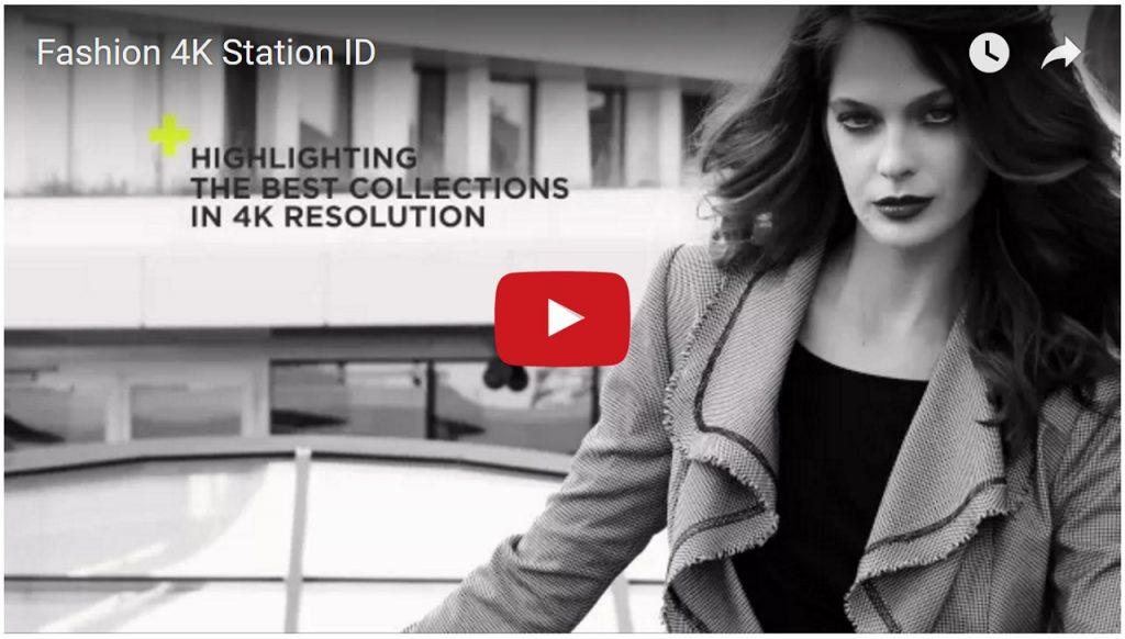 Fashion 4K Station ID