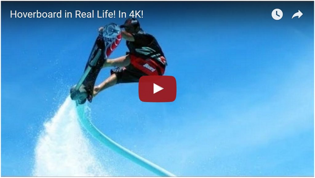 Hoverboard in Real Life 4K