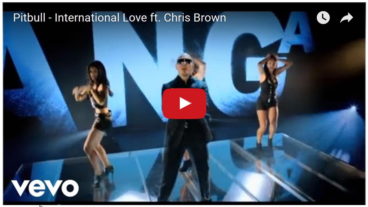 Pitbull – International Love ft. Chris Brown