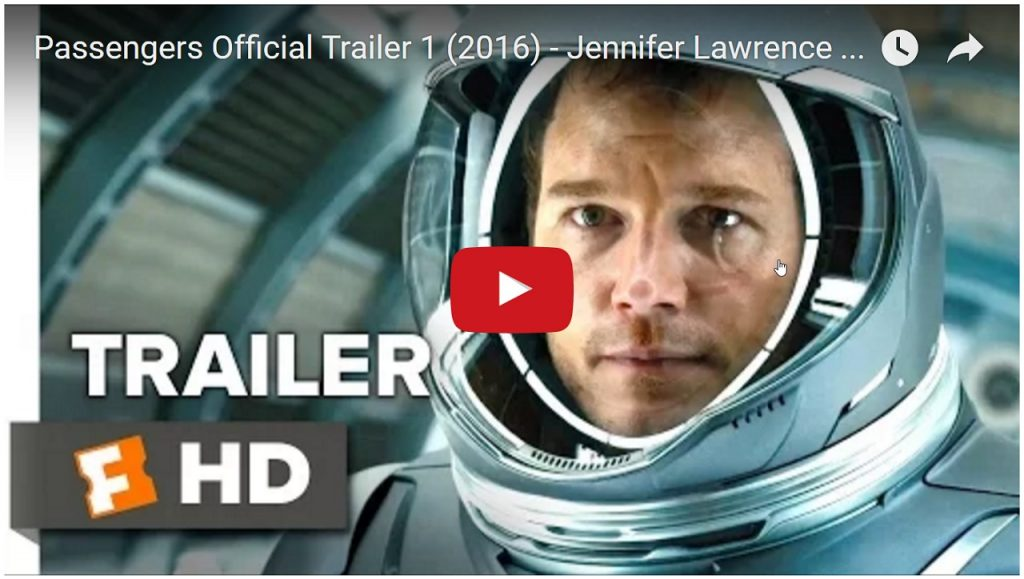Passengers Official Trailer 1 (2016) – Jennifer Lawrence Movie