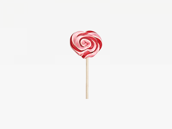 Pink and Red Lollipop