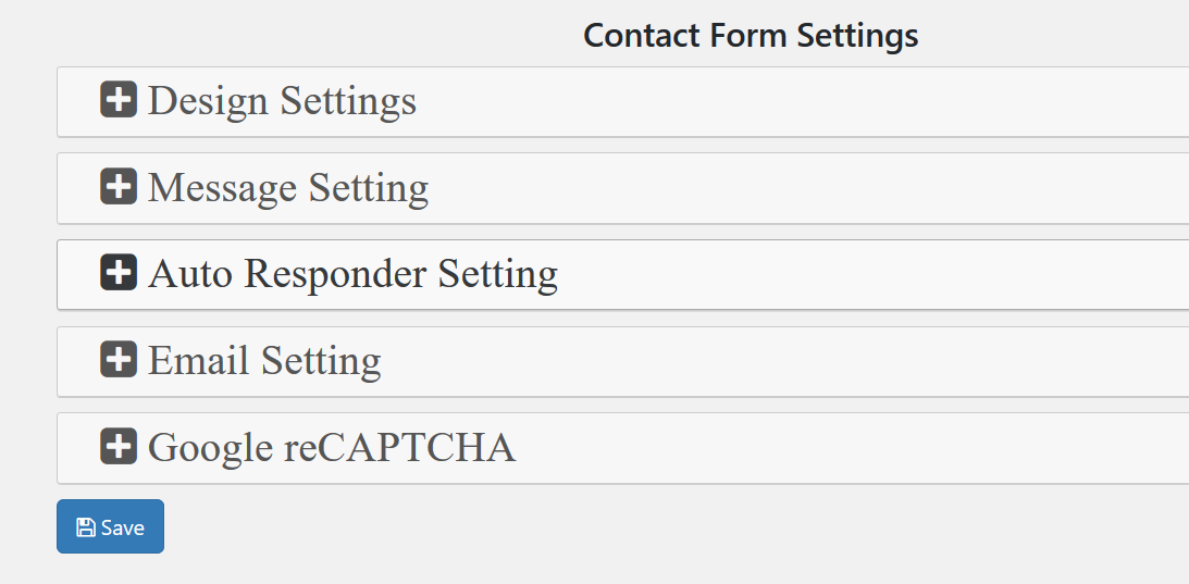 Make Contact Form