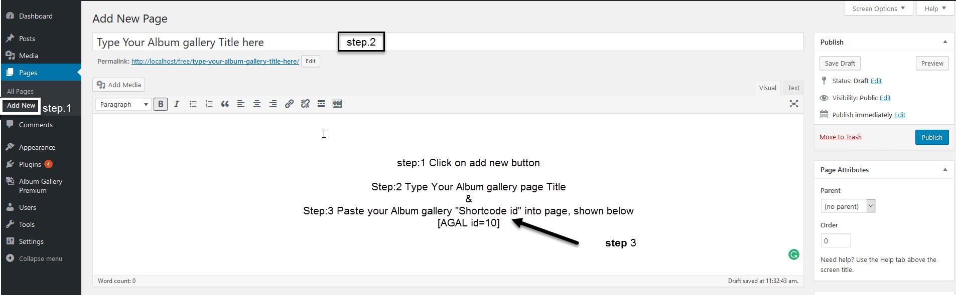 create album gallery premium 12