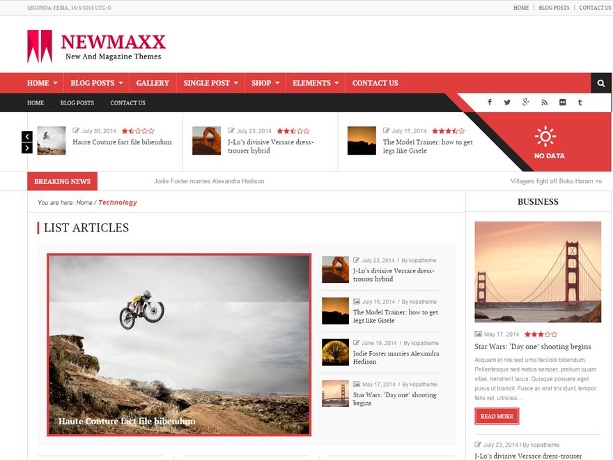 new-maxx-lite-theme
