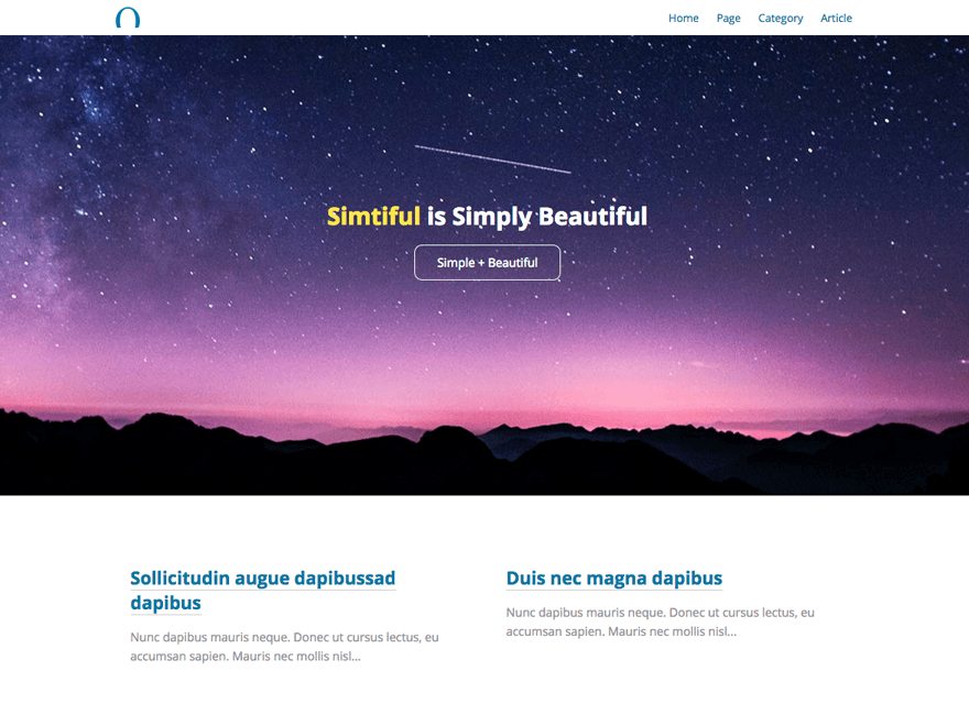 simtiful-theme