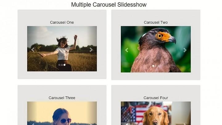 multiple-bootstrap-carousels-slidesshow