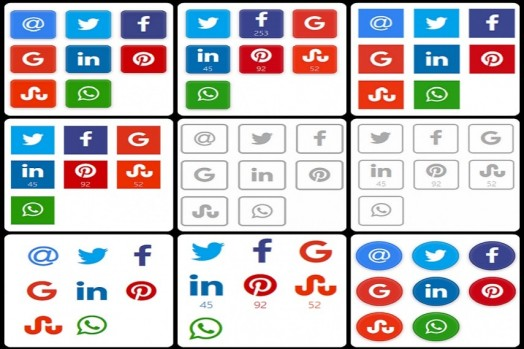 Social Share Button WordPress Plugin
