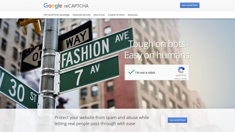 get-google-recaptcha-site-key-and-secret-key