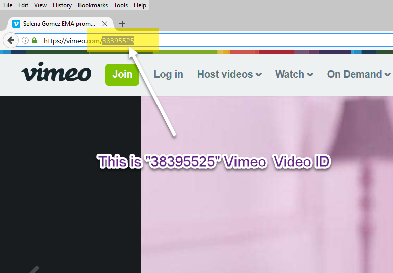 Get YouTube video id