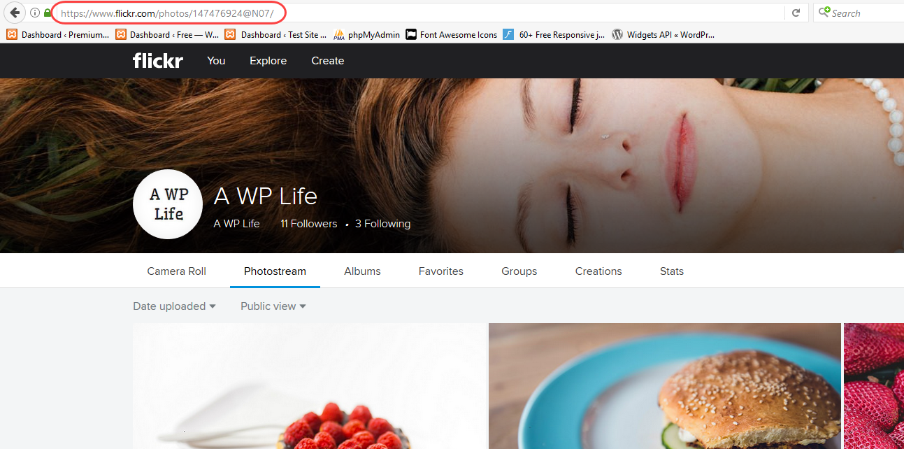 Get Flickr user ID