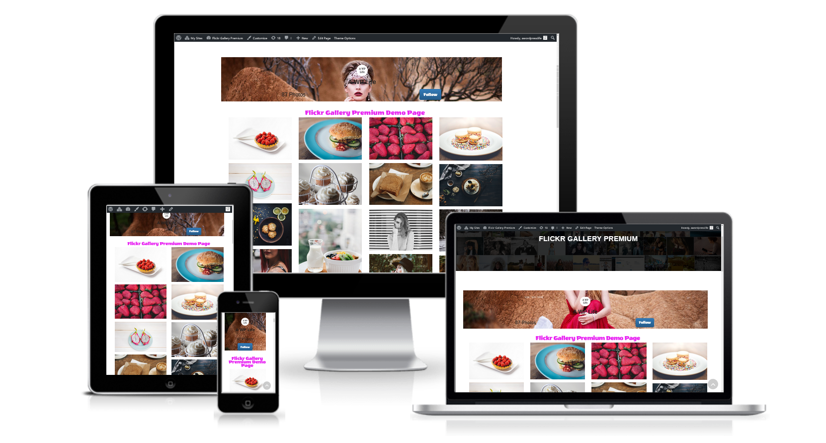 Flickr Gallery WordPress Plugin