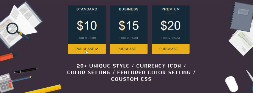 Top 10 Best WordPress Pricing Table Plugins Screenshot 26