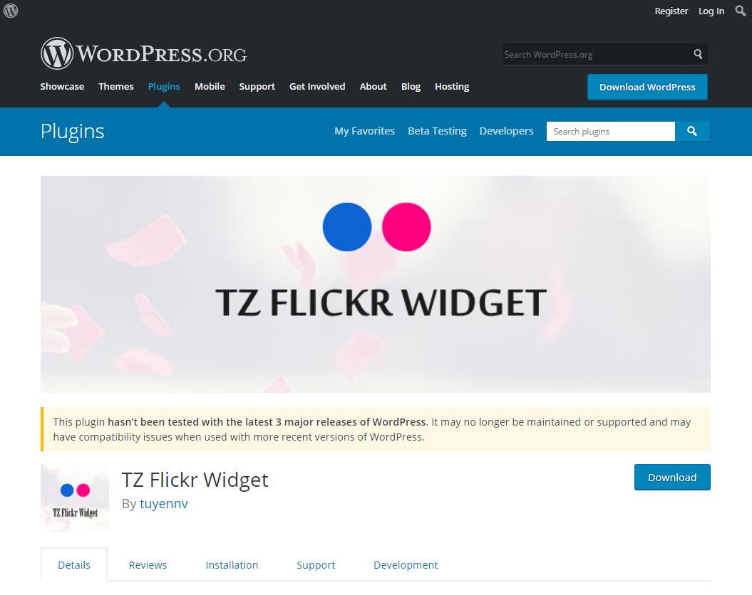 flickr widget