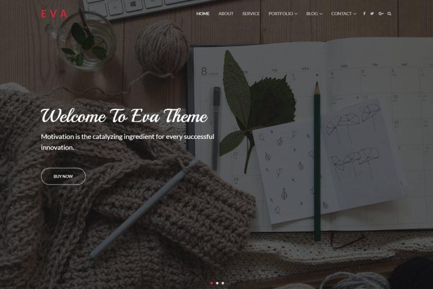 Eva WordPress Premium Theme For Restaurant Hotels Food