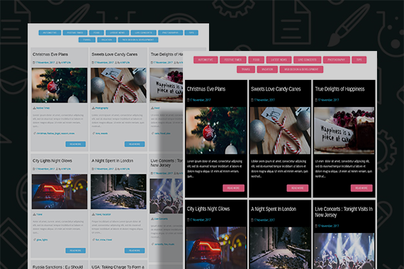 Blog Filter Free And Premium WordPress Plugin