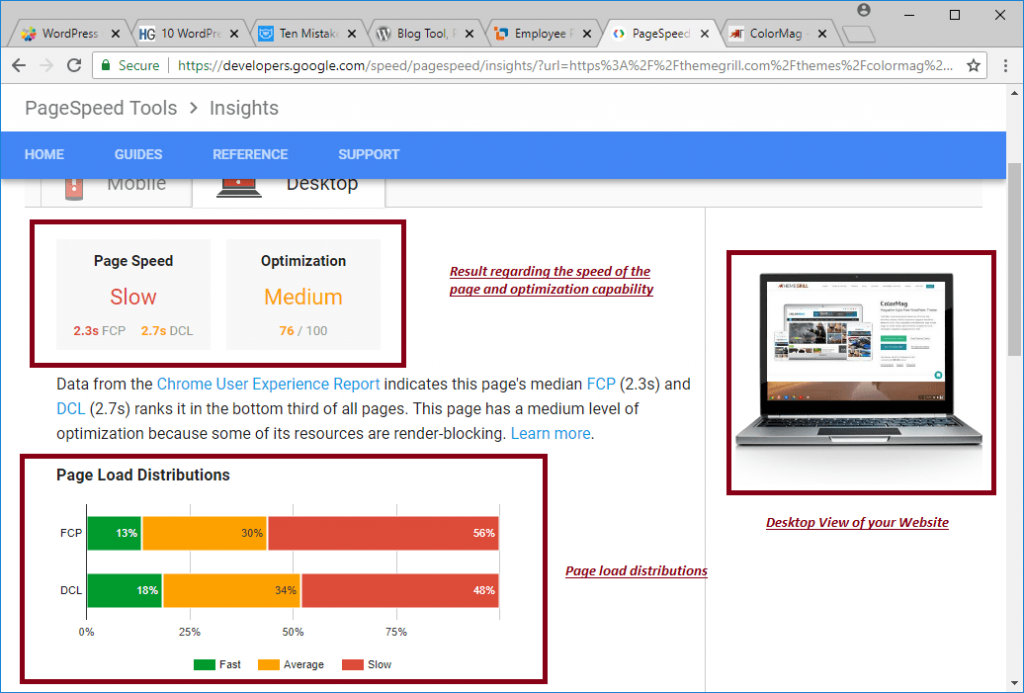 PageSpeed Insights Image 5 - A WP Life