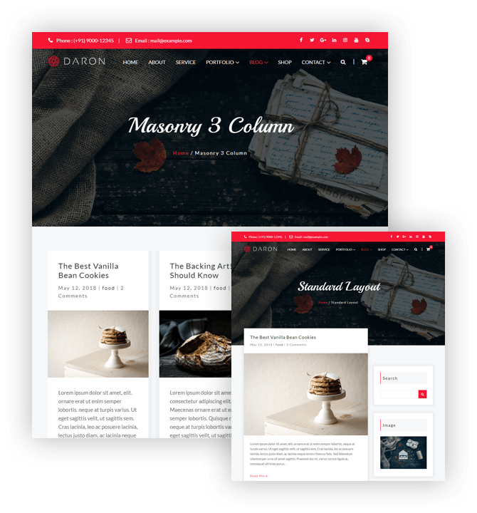Daron Premium WordPress Theme – Multiple Blog Templates – A WP Life