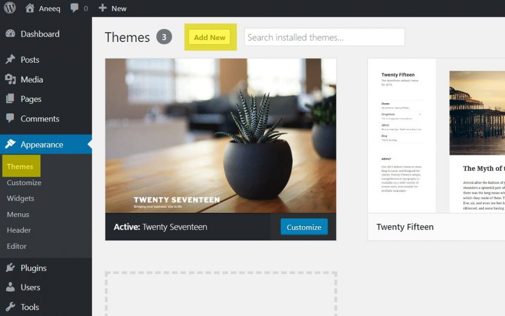 medihelth-wordpress-theme-add-new