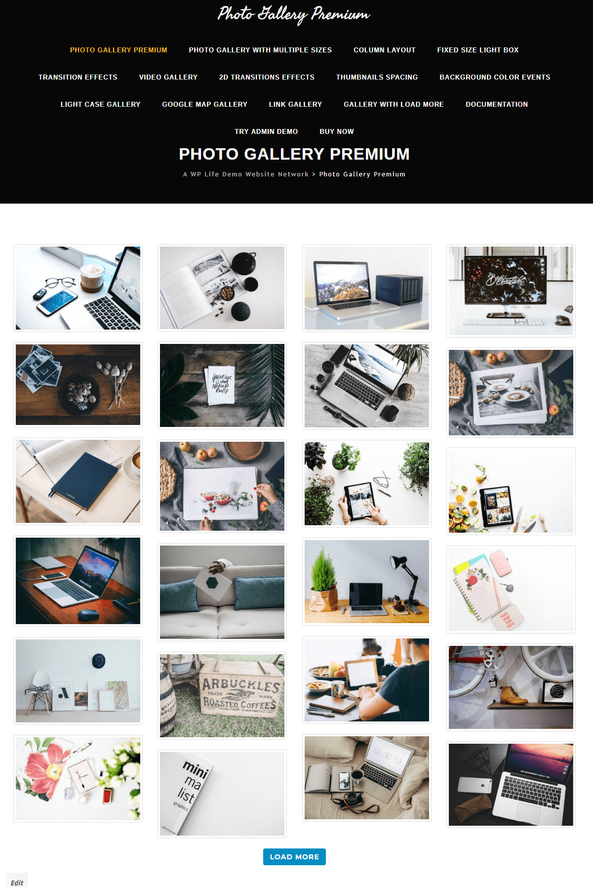Photo gallery premium