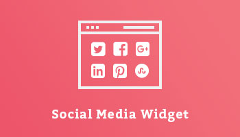 Social Media Widget Wordpress Plugin