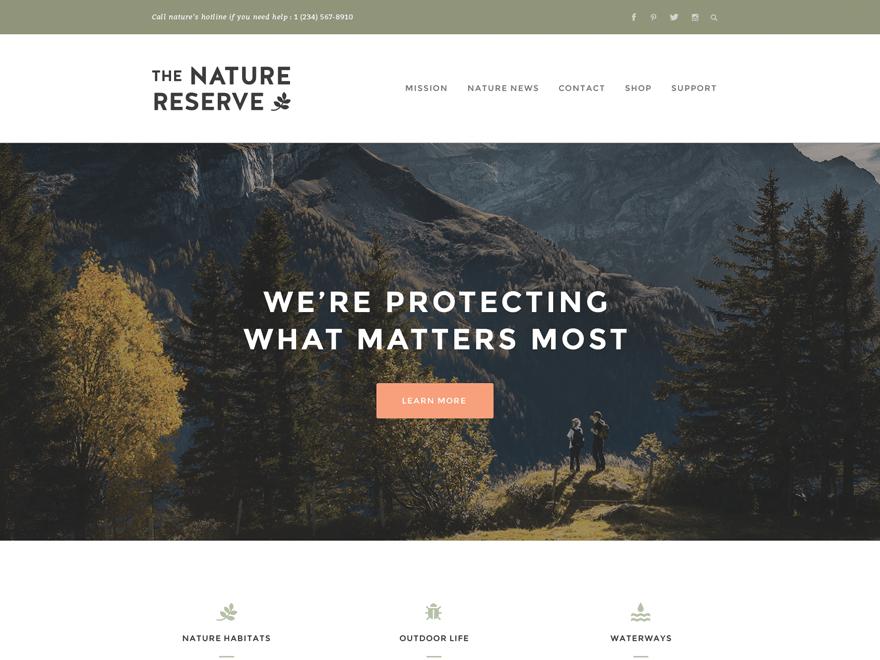 Naturelle Theme