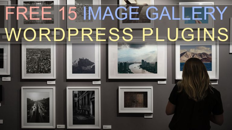 Free-15-Image-Gallery-WordPress-Plugins
