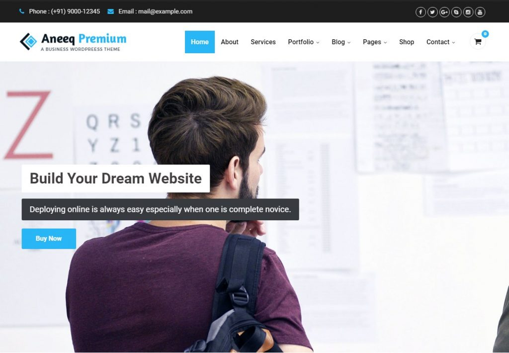Aneeq-Premium-Business-WordPress-Theme