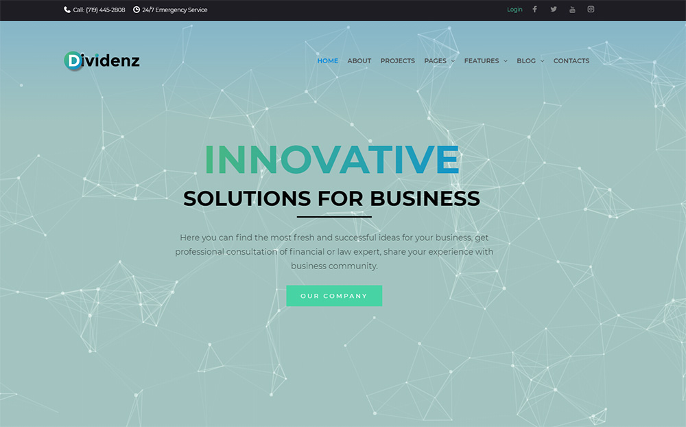 Dividenz-Investment-Company-Elementor-WordPress-Theme