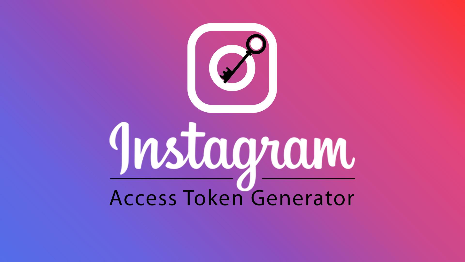Instagram Access Token Generator