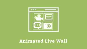 Animated Live Wall Premium
