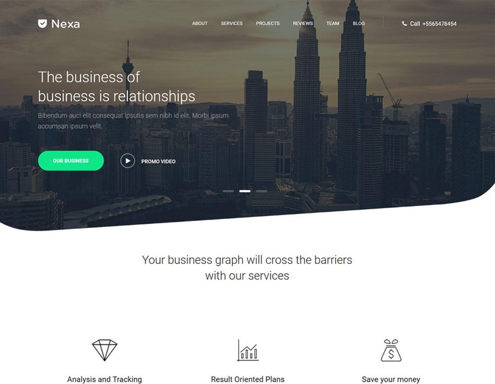Nexa Build – Multi Purpose WordPress Theme